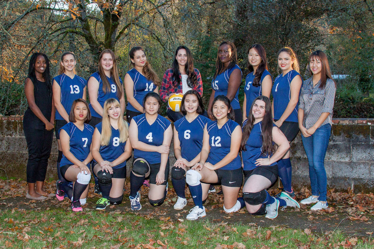 Canyonville Christian Academy, Girls Volleyball, 2016, Boarding School