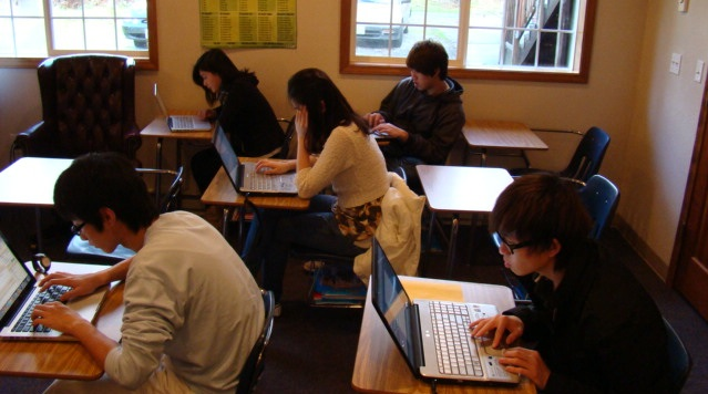 SEO class, Internet Marketing class studies about today's word of mouth marketing online at canyonville christian academy