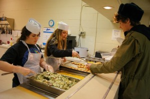canyonville christian academy private boarding school has great lunches!