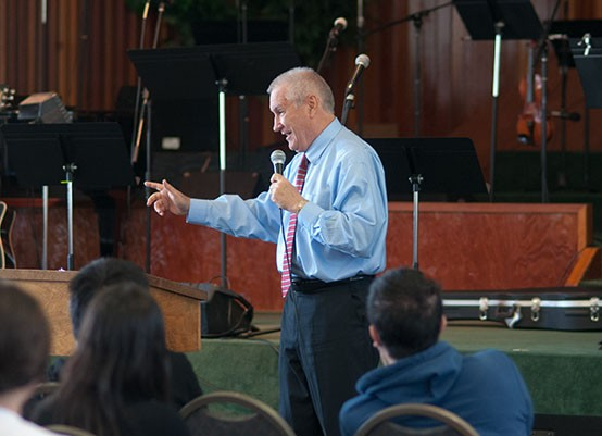 Doug Wead Speaks in Chapel