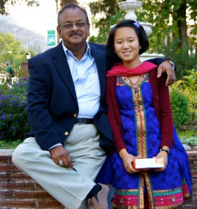 Dr Fiaz Rahman with Soniya at Canyonville Christian Academy, in Canyonville, Oregon. This is one of the Top International Boarding Schools in the USA