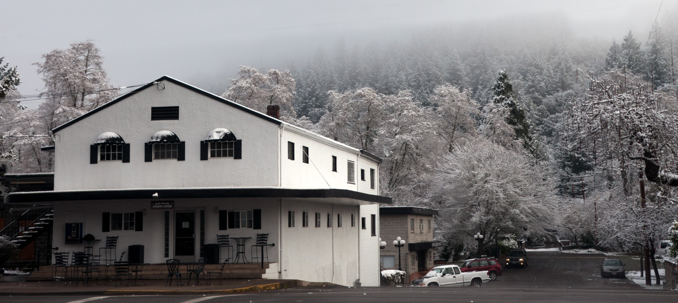Student Center at Canyonville Christian Academy, in southern Oregon. Canyonville, has an International Boarding school