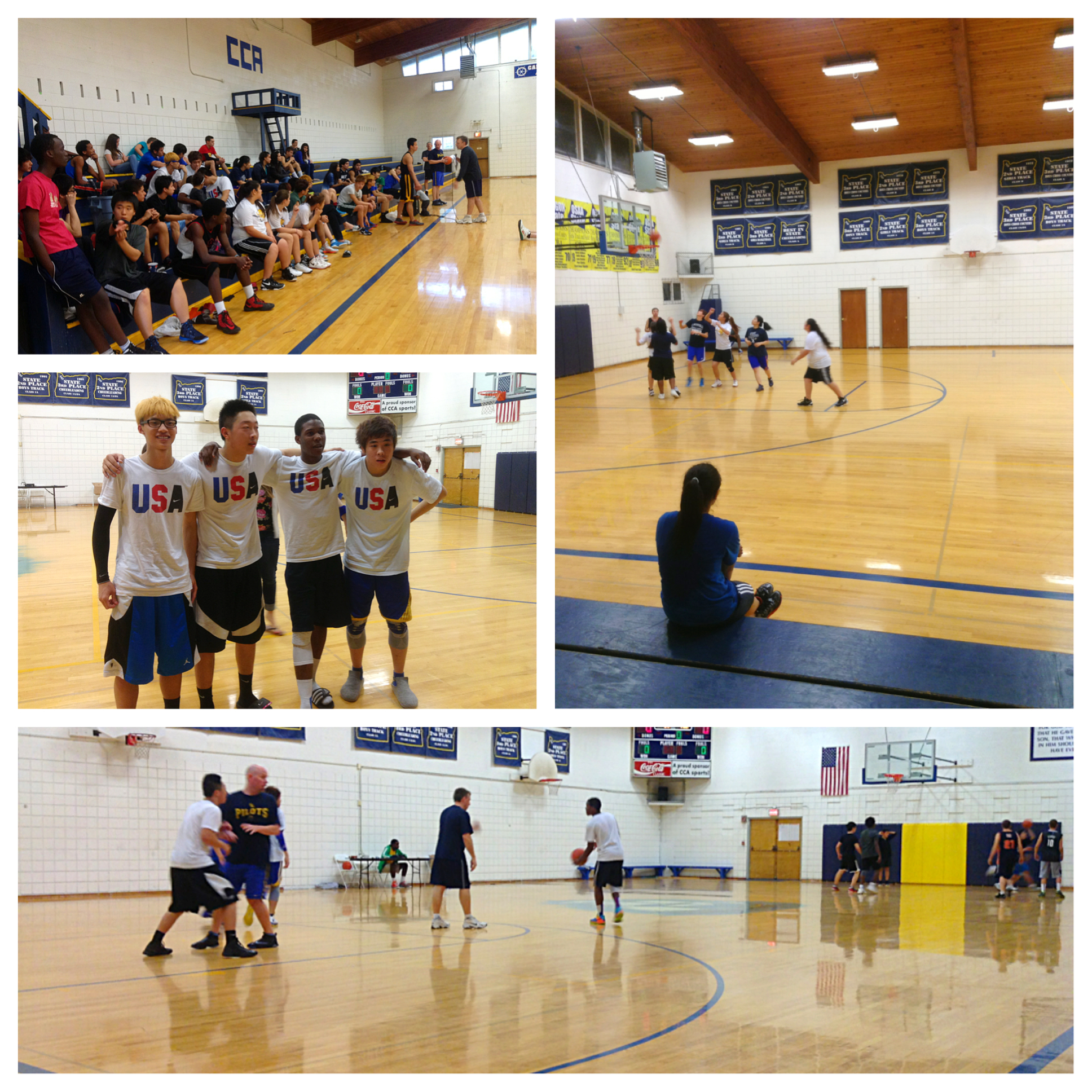 Private School's 3-on-3 Basketball Tournament