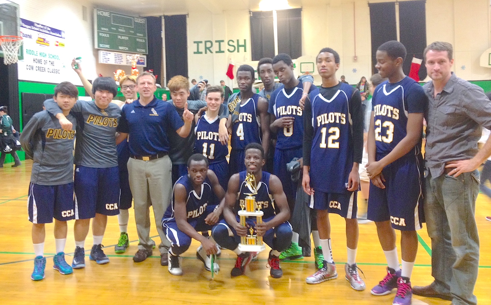 Christian Academy Boys Basketball Win Cow Creek Classic