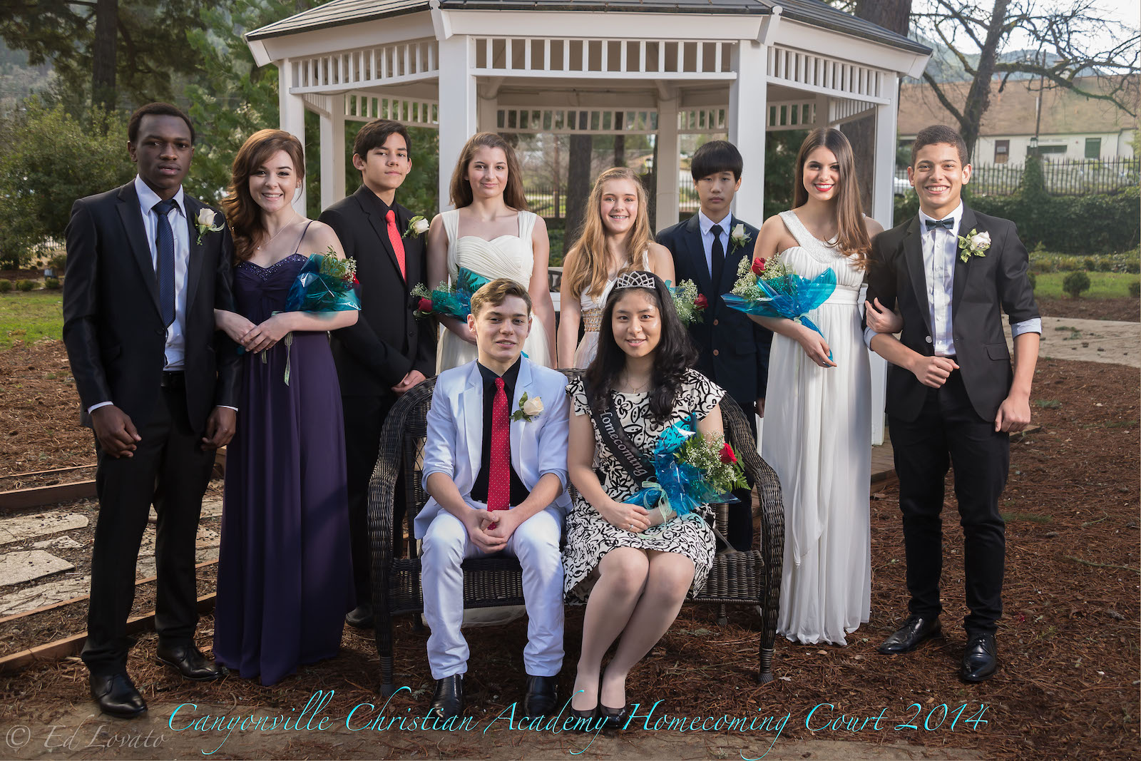 Canyonville Christian Academy's 2014 Homecoming Court