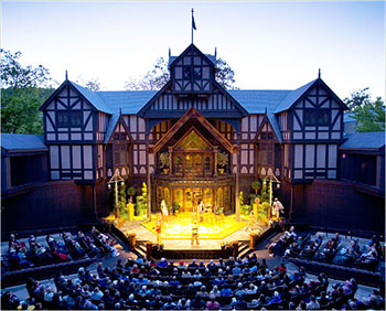 private school, Canyonville Academy, elizabethan theatre, ashland, oregon, shakespeare festival