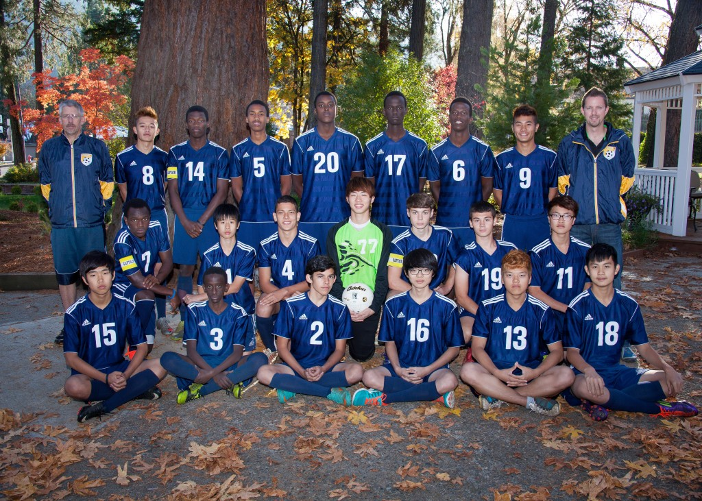 canyonville christian academy, international students, soccer team, 2013-2014 season