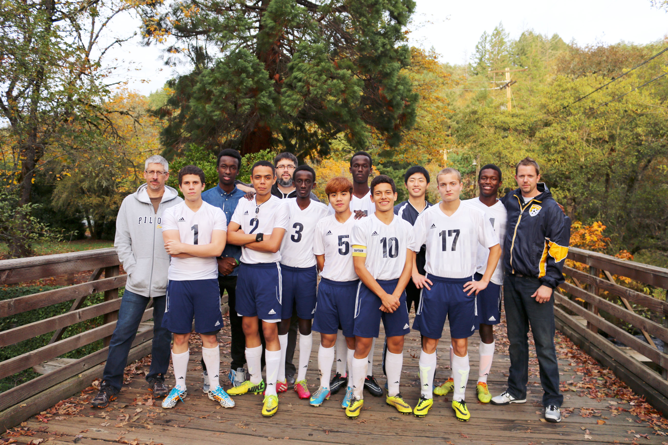 Canyonville Christian Academy, soccer team, international players, seniors