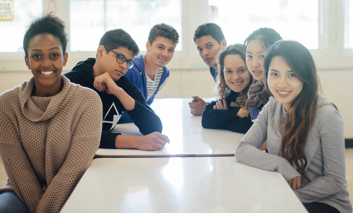 Canyonville Christian Academy High school students