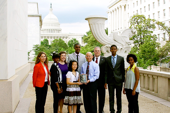 Canyonville Christian Academy places third in stock market game - SIFMA Capitol Hill Challenge
