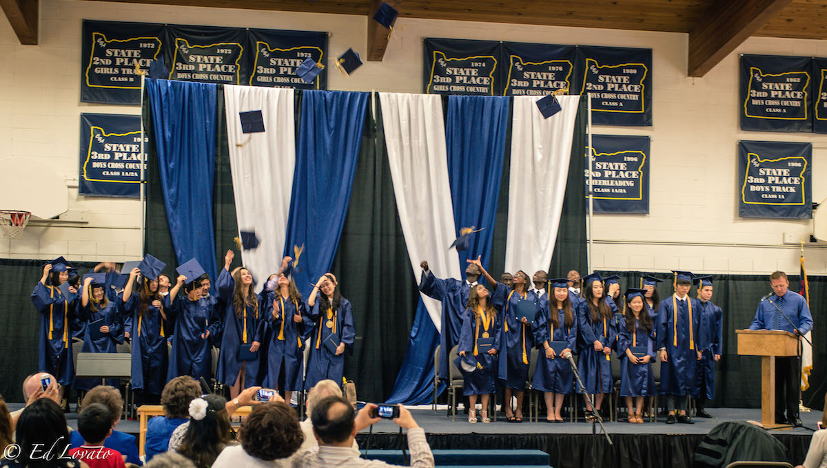 canyonville, oregon, graduating students, class 2015