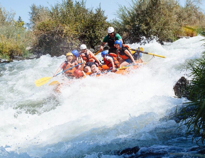 Canyonville Christian Academy, a Christian boarding school plans an all day rafting trip