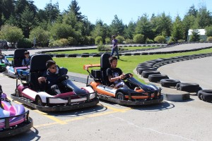 boarding school, takes students, on a fun filled day, Oregon Coast