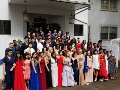 Private school Junior Senior Banquet 2016