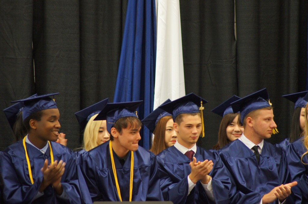 graduating class, at CCA, in Canyonville, Oregon