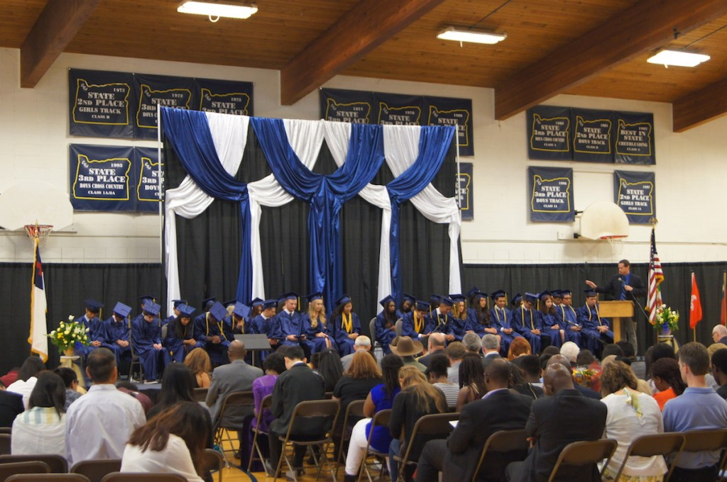 high school seniors, graduating from, christian boarding school