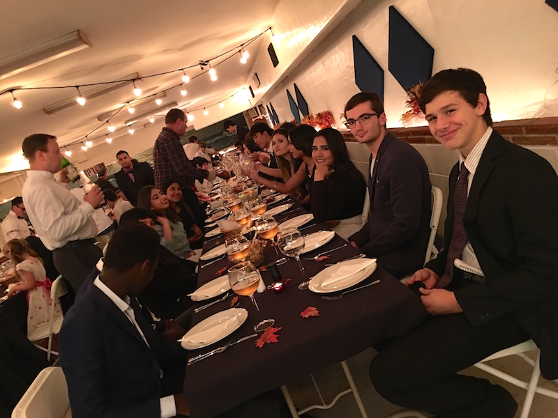 christian boarding school, Thanksgiving dinner, Canyonville, Oregon
