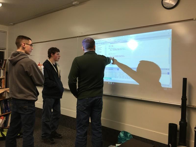 Canyonville Christian Academy, robotics team, South Umpqua High school, team up for robotics team