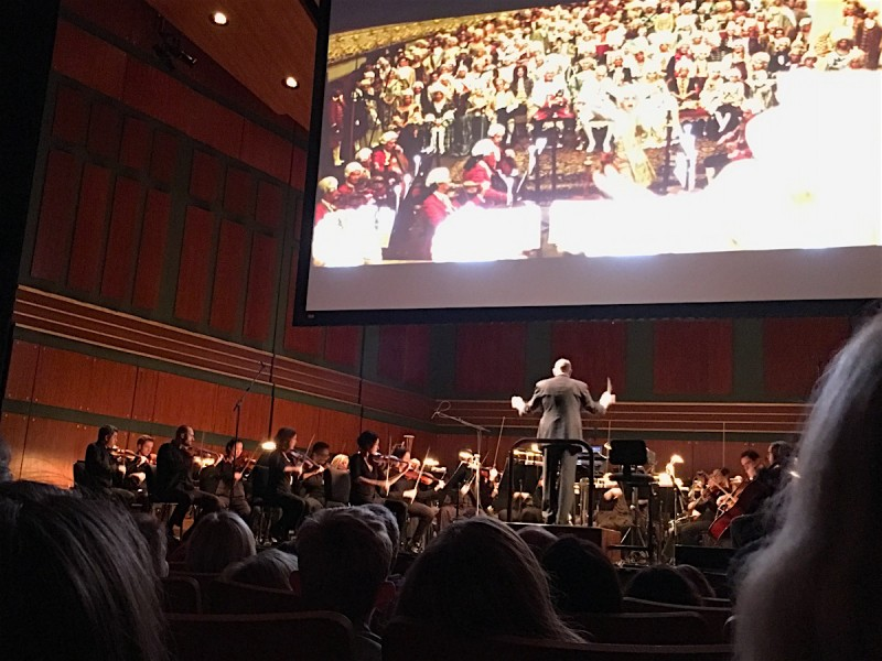 Christian Boarding School, CCA, attends Special concert of Academy Award winning film Amadeus
