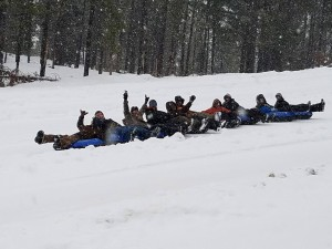 christian boarding school planning a trip to Diamond lake for an evening of cosmic tubing