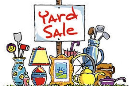 Christian Boarding School host yard sale