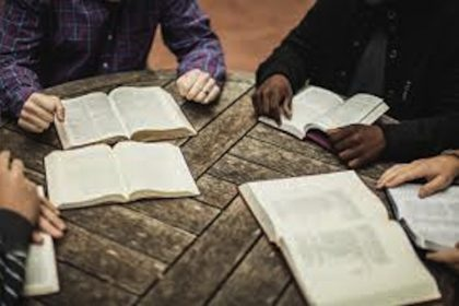 Christian High School has bible study every other week