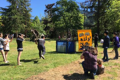 christian boarding school, summer party fun, has dunk tank , on east campus