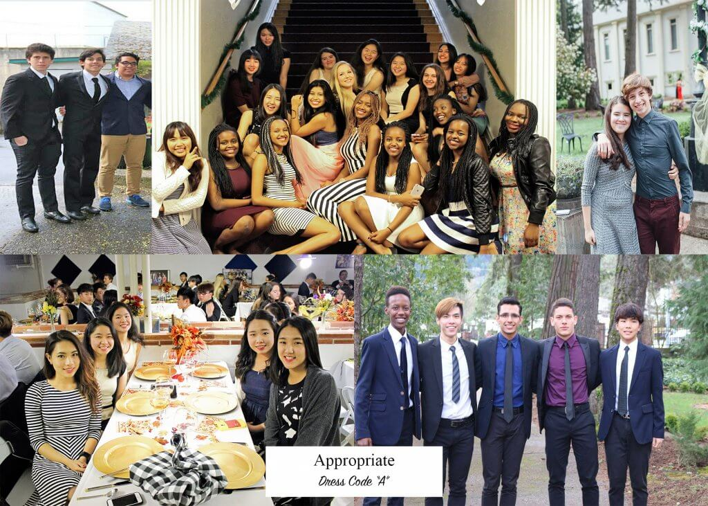 Canyonville Christian Academy Dress Code A, international boarding high school, ESL program, college preparatory