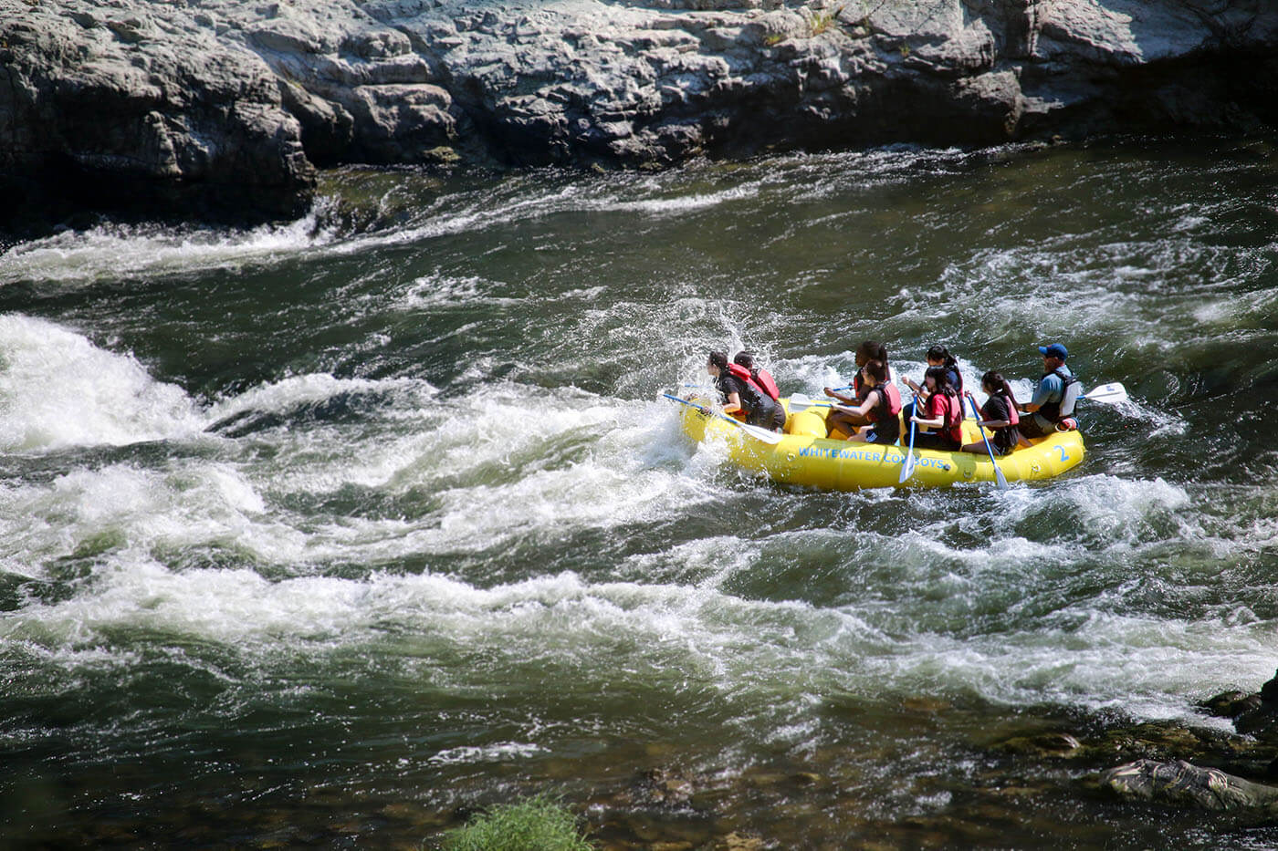 Christian Academy goes rafting