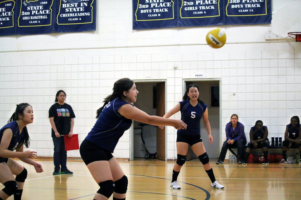 Christian Boarding School's Girls Volleyball