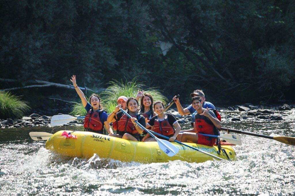 Top Christian Boarding School goes rafting