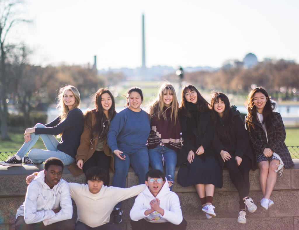top christian college preparatory boarding school, international students, visit washington DC,