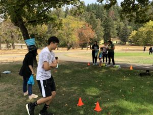 Academy students, enjoyed a fun and challenging day, during their annual ice breaker