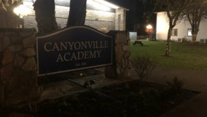 Christmas cheer spreads across Canyonville Academy's campus.