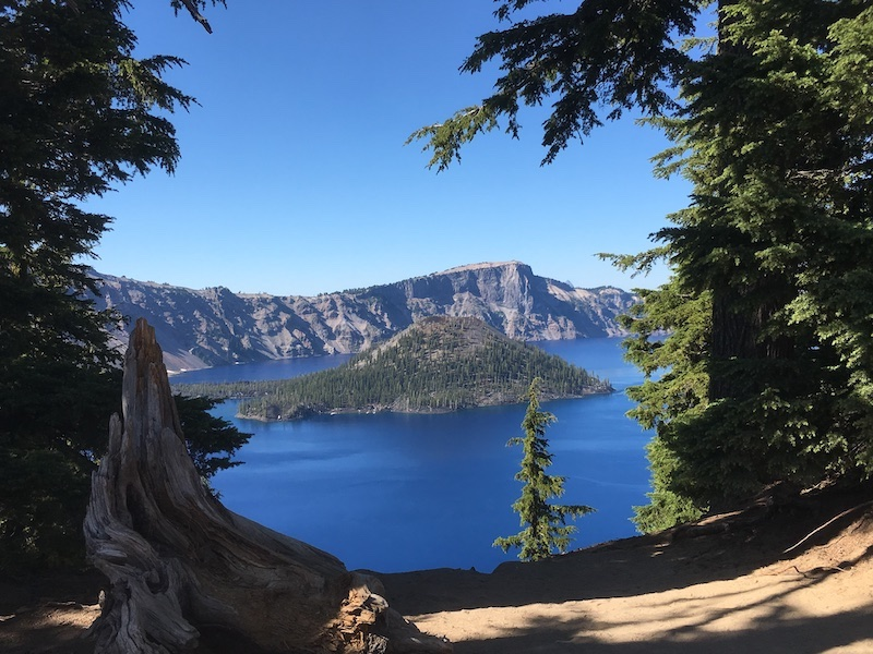 Crater Lake National Park, 2 hours from Canyonville Academy, a Christian boarding school